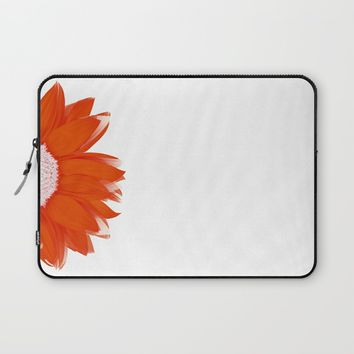 portrait of summer - red white Laptop Sleeve by Steffi Louis