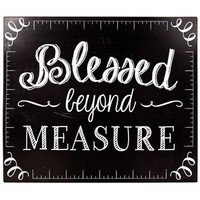 Blessed Beyond Measure Tin Sign | Shop Hobby Lobby
