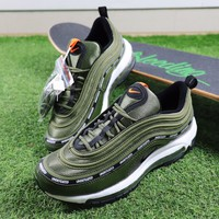 Best Online Sale Undefeated x Nike Air Max 97 Army Green Sport Running Shoes