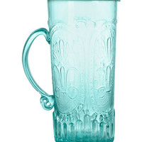 Patterned Glass Pitcher - from H&M