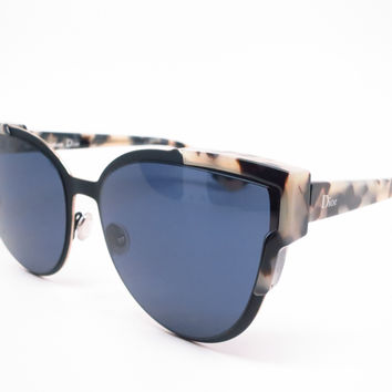Dior Wildly Dior P7JKU Fog Havana Black Sunglasses