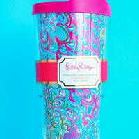 Lilly Pulitzer Insulated Tumbler-Lilly's Lagoon