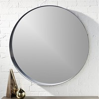 "crescent 32.5"" round wall mirror"