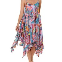 Bleu Rod Beattie Here Comes The Sun Swim Cover Up Dress