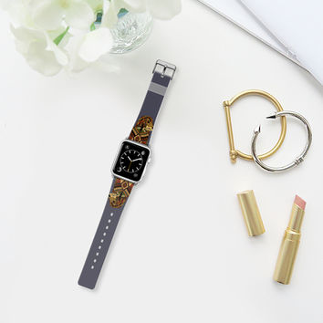 Golden Retriever dusk apple watch band Apple Watch Band (38mm) by Sharon Turner | Casetify