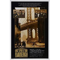 Once Upon A Time In America Movie poster Metal Sign Wall Art 8in x 12in
