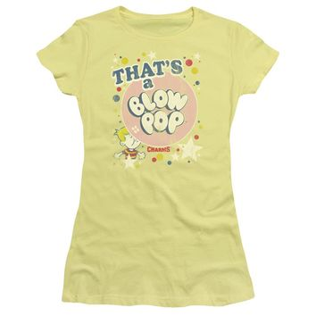 Tootsie Roll - That's A Blow Pop Short Sleeve Junior Sheer