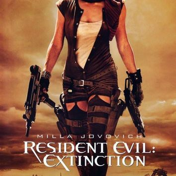 Resident Evil: Extinction 27x40 Movie Poster (2007)