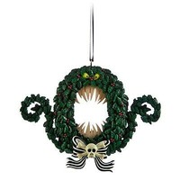disney nightmare before christmas wreath christmas ornament new with tag