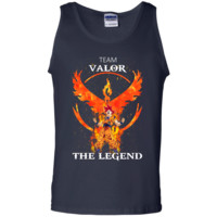 Team Valor Goku - Pokemon Go ft Dragon ball Tank Top