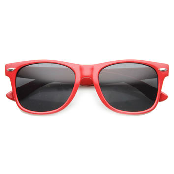 Retro Colorful Horned Rim Sunglasses 9879