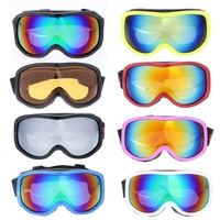 2017 ski goggles double UV400 anti-fog big skiing and and Mountaineering mask glasses skiing men women snow snowboard goggles