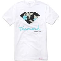 Diamond Supply Co Chill Floral Tee at PacSun.com