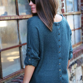 Simple In Studs {Charcoal}