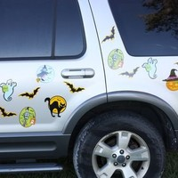 Set of 14 Halloween Car Magnets