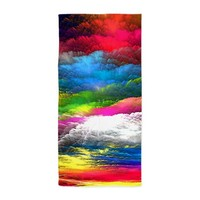 Abstract Clouds Beach Towel