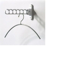 Holder Hook Hanger White Clothing Storage New Rack Clothes Laundry Free Gift