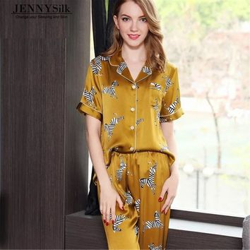 Silk pyjamas for women/silk sleeping wear 100% mulberry Silk/Bridesmaid Gifts/Bridesmaid Pajama Set