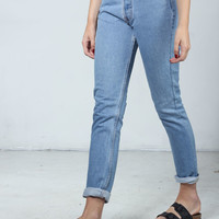 Jeans Woman : Authentic Skinny Light Levis Jeans