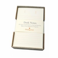 Ecru Desk Notes [OrangeArt Stationery]