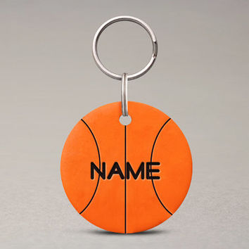 Basketball Pet ID Tag - Custom Team Colors, Pets Sports Accessories, For Dogs Cats
