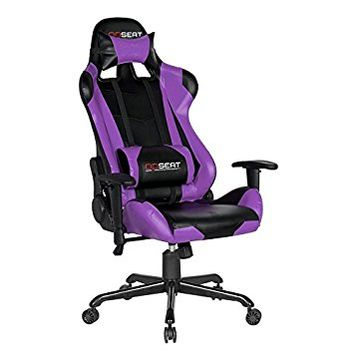 OPSEAT Master Series PC Gaming Chair Racing Seat Computer Gaming Desk Chair (Purple)