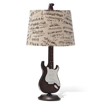 Electric Guitar Lighting Table Lamp - Value City Furniture