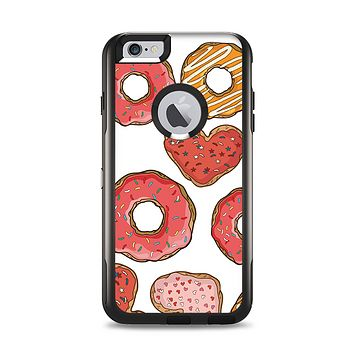 The Vectored Love Treats Apple iPhone 6 Plus Otterbox Commuter Case Skin Set