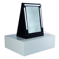 Tas Merah TM-15-11  Foldable 2 Sided Mirror (for stand alone use or with the Portable Make-Up Station)