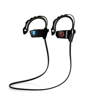 Bluetooth Headphones Premium Wireless Earphones Sports Sweatproof Bluetooth In-Ear Earbuds with Noise Reduction Streaming Music Stereo Beats Gym Headsets with Mic By Pantrasamia