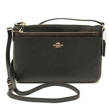 COACH Crossgrain Leather E/W Pop Crossbody COACH bag