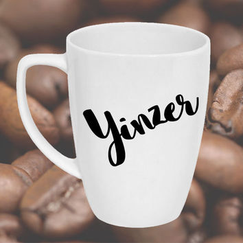 Yinzer Coffee Mug - Pittsburgh Coffee Mug - Christmas Gift for college, relocation, new job, son, daughter, parents, teacher, coach, ceramic