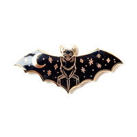 Creature Of The Night Lapel Pin