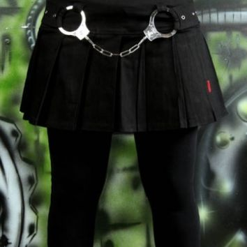 Tripp Jail Break Skirt :: VampireFreaks Store :: Gothic Clothing, Cyber-goth, punk, metal, alternative, rave, freak fashions