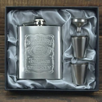 Jack Daniels Portable Hip Flask 7oz