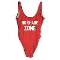 NO SHADE ZONE Women's One Piece Swimsuit