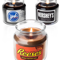 Hershey's Chocolate Candy Jar Candles