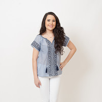 THML - Tassel Denim Shirt