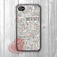ed sheeran art collage lyric-11nyy for iPhone 6S case, iPhone 5s case, iPhone 6 case, iPhone 4S, Samsung S6 Edge