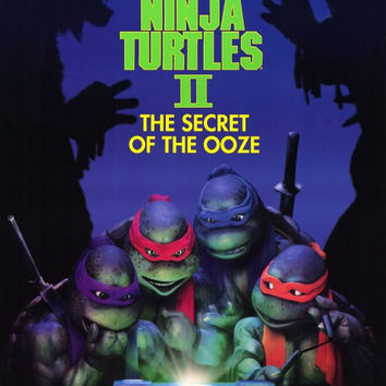 Teenage Mutant Ninja Turtles 2: The Secret of the Ooze 11x17 Movie Poster (1991)