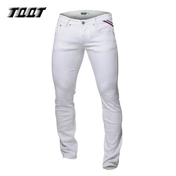 *Online Exclusive* TQQT stretch straight jeans (more colors)