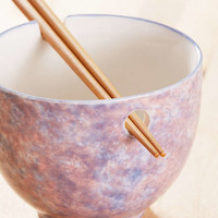 Noodle Bowl + Chopsticks Set | Urban Outfitters
