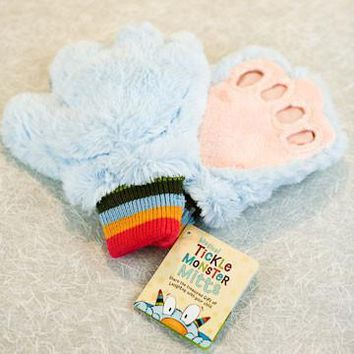 Magical Tickle Monster Plush Hands