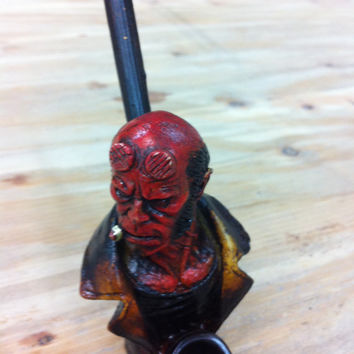 Tobacco Hand Made Pipe, Hellboy Design