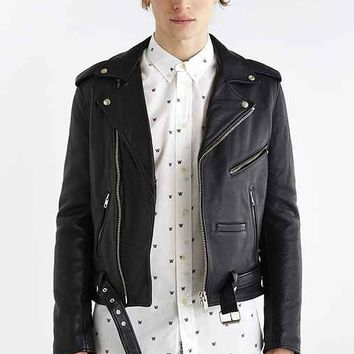 Neuw Berlin Moto Jacket- Black