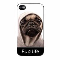 Pug Life Parody Fans Funny Hilarious iPhone 4 Case