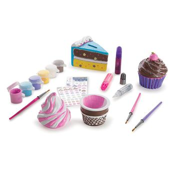 Melissa & Doug Decorate-Your-Own Sweets Craft Set (Cherry/Cream)