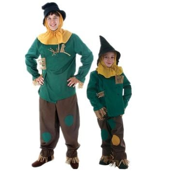 Hot cosplay Halloween cosplay costume Wizard of Oz scarecrow cartoon scarecrow party costume