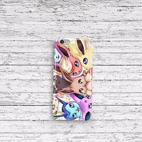 Pokemon Eevee Evolutions iPhone 4 5 5c 6 6plus and Samsung Galaxy S5 Case