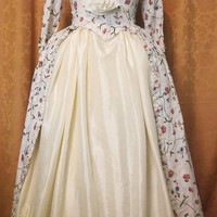 18th century costume print gown